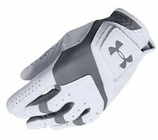 Under Armour Men's CoolSwitch Golf Glove White/Steel Left Hand Medium New