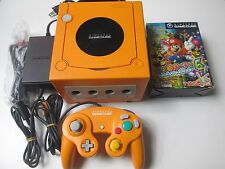 Nintendo Gamecube Console Bundle orange (NTSC-J) Mario Party 6 JAPAN IMPORT