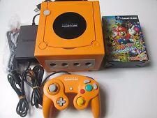 Nintendo Gamecube Console Bundle Orange (NTSC-J) Mario Party 6 Japan Import