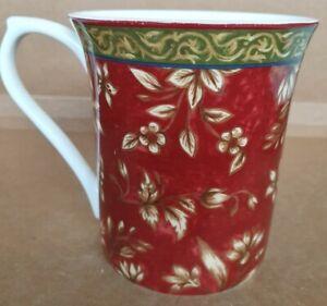 Queens by Churchill Ceylon Coffee Tea Mug Cup Fine Bone China Lovely Brown Gold