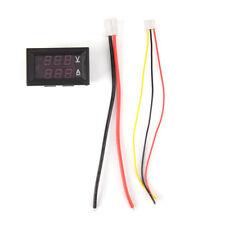 DC 0-100V 10A Dual LED Voltmetro digitale Amperometro Voltaggio Alimentatore!AMP