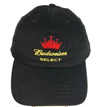 01062c46 Budweiser Select Adjustable Cap -Black -One Size Fits All