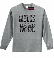 Sister Of The Moon Long Sleeve T Shirt Yoga Hippie Graphic Tee Party Gift Tee Z1