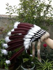 indian feather headdress indian war bonnet for halloween costume supply
