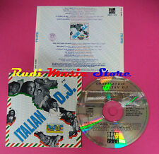 CD ITALIAN D.J. COMPILATION 1990 LEONARDO BOOM BOOM MOIRAGHI  no mc dvd vhs(C33)