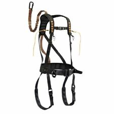 Gsm Outdoors Muddy Safeguard Hunting Safety Harness-Black Large  00004000