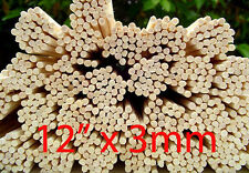 "500 Premium Rattan Reed Fragrance Diffuser Replacement Refill Sticks 12"" x 3mm"