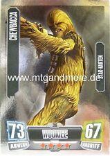 Force Attax Serie 2 Chewbacca #206 Star