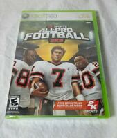All-Pro Football 2K8 (Microsoft Xbox 360, 2007) Sealed Brand New complete