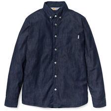Carhartt Civil Denim Shirt Blue Dip Rinsed Hemd NEUWARE Gr.M portofrei