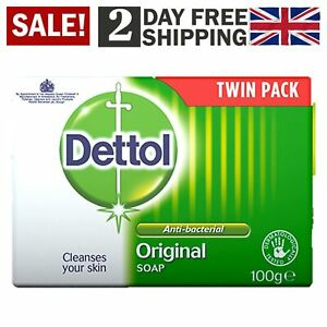 Dettol Bar Soap Original Hand Wash Pack Of 2