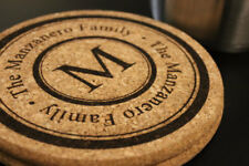 Personalized Monogram Cork Heat Trivets for Cooking Hot Pan Kitchen Counter Gift