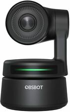 OBSBOT Tiny AI-Powered PTZ Webcam Full HD 1080p  Control Audio Support Software