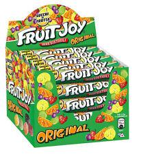 FRUIT JOY Gummibärchen Bonbon Kaubonbon Nestle BOX 36 Pakete 52,5 gr aus italien