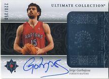 CARD NBA CON AUTÓGRAFO DE JORGE GARBAJOSA
