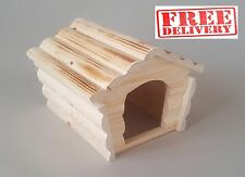 Hamster Cage Accessories Wooden House Large Rodents Rat Mouse Chinchilla Degu