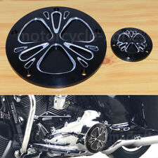 Contrast Cut Derby Timer Timing Cover For Harley Touring Dyna Softail Road King