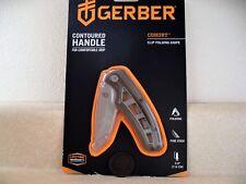 """Gerber Cohort Pocket Clip Folding Knife 3"""" Stainless Steel Blade 31-003089"""