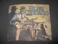 1994 Blue Chicago (Painting by John Carroll Doyle) (2Xl) T-Shirt