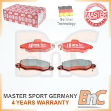 # GENUINE MASTER-SPORT GERMANY HEAVY DUTY FRONT DISC BRAKE PAD SET FOR FORD