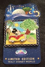 Disney Pin 61646 WDW~Disney Vacation Club 2008 Collection~Mickey & Pluto~Car~LE