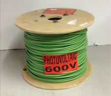 Encore Wire PhotovoltAIC 500' Green 10AWG 600v Wet/Dry Solar Cable 147100905440