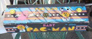Original BABY PACMAN Video Arcade Game Control Panel
