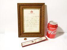 Royal Gift 1925 Prince Henry Duke of Gloucester Gold Enamel Stick Pin Bramham