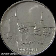 More details for 1980 norway silver 200 kroner bu coin akershus castle