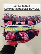 GIRLS Summer Dress SIZE 1-2 BUNDLE, Carter, Next, Pumpkin Patch & More...