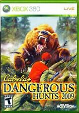 Cabela's Dangerous Hunts 2009 Xbox 360 Tested Xbox 360, Video Games