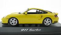 MINICHAMPS - PORSCHE 911 Turbo - gelb - 1:43 in OVP /Box - WAP02006410 model car