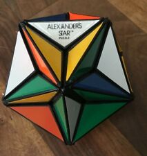 Original 1982 Alexander Star puzzle related to Rubik cube vintage twisty puzzle