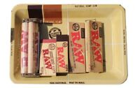 RAW Classic  1 1/4 Rolling Paper Tray Bundle 6 Total Items - Starter Kit