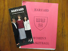 1989-90 Harvard Women's Basketball Guide(14 Signed/KATHY DELANEY SMITH/JODY FINK