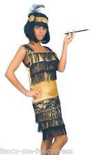 Costumi e travestimenti in oro per carnevale e teatro taglia L