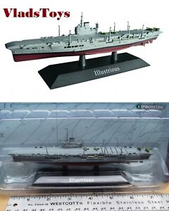 DeAgostini 1/1250 British Royal Navy aircraft carrier Illustrious - 1940 DAKS08