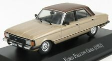 EDICOLA AUTOSINOLANCOLL005 SCALA 1/43 FORD ENGLAND FALCON GHIA 1982 GOLD BROWN