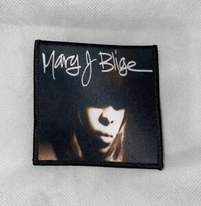 Mary J Blige Patch - Queen Of Hip Hop Soul Method Man 90s r&b what's the 411?