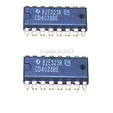 New 10 pcs CD4028 4028 BCD to Decimal Decoder DIP16 DIP-16 IC