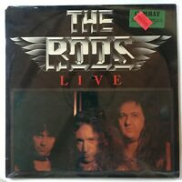 NOS The Rods - Live Vinyl Lp 1983 Rare COMBAT MX 8003 SEALED