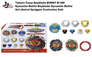 Takara Tomy B-188 Astral Spriggan Customize Dynamite Beyblade (US) READY STOCK