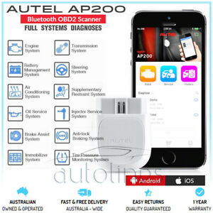 AUTEL AP200 Bluetooth 4.0 OBD2 Android iPhone Diagnostic Scanner Tool Fits VAG