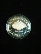 """1987 - S - Constitution 200th Anniversary -- """"We the People"""" -- US Silver Dollar"""