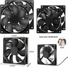 Strong Quiet 12025 Fan 120X120x25mm 12Cm 120Mm Computer Case DC 12V Cooling For