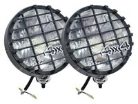 Land Rover & 4X4s - 100W Spotlights/Driving Lamps+ Stone Guards (pair) DA4088