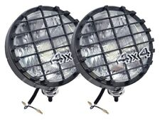 Land Rover & 4X4s - 100W Spotlights/Driving Lamps With Stone Guards DA4088