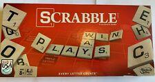 Scrabble Crossword Board Game By Hasbro