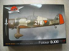 SILVER WINGS-1/32- FOKKER D.XX1 DUTCH FIGHTER