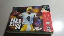 NFL Quarterback Club 99 *New Factory Sealed * Nintendo 64 N64 cisb boxed